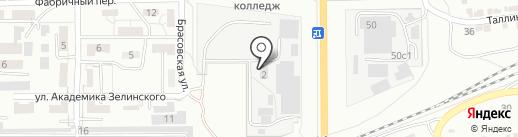 Уютный Дом на карте Волгограда