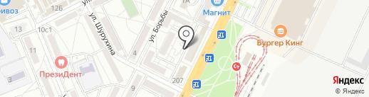 Погребок на карте Волгограда