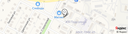 Мои Документы на карте Краснослободска