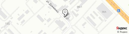 Торговое оборудование на карте Волгограда