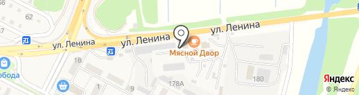 Штукатуркино на карте Краснослободска