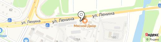 Природный камень на карте Краснослободска