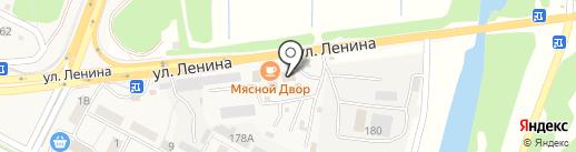 Хома на карте Краснослободска