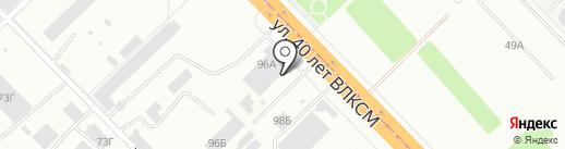 ВолгоКонкритМастер на карте Волгограда