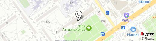 Волгопупс на карте Волгограда