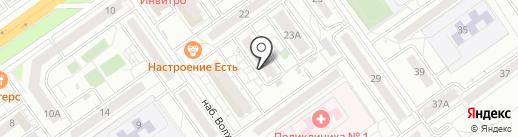 Реальное время на карте Волгограда