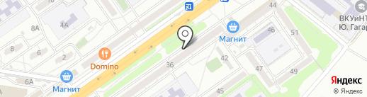 Банкомат, Почта Банк, ПАО на карте Волгограда