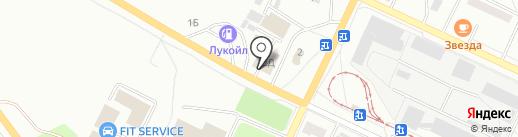 Магазин автокрепежных изделий на карте Волжского