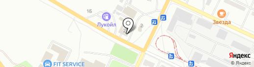 Магазин автозапчастей для иномарок на карте Волжского
