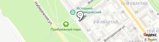 ЗАГС №1 на карте Волжского