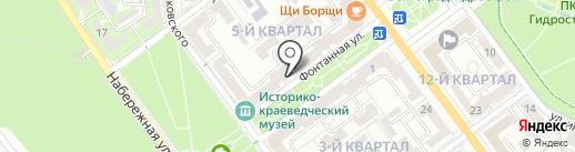 Отдел по делам гражданской обороны и чрезвычайным ситуациям на карте Волжского