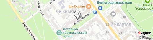 ЗдравСити на карте Волжского
