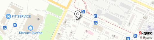 ЮЖНЫЙ ПРОЦЕССИНГОВЫЙ ЦЕНТР на карте Волжского