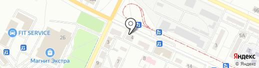 Русская Поляна на карте Волжского