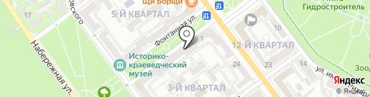 Творческая мастерская рисунка и живописи им. Б.И. Махова на карте Волжского