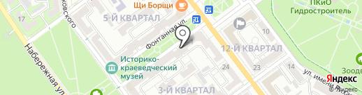 Агентство недвижимости на карте Волжского