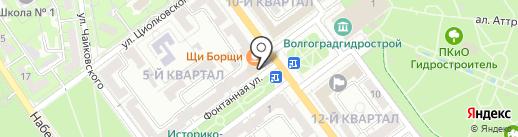 Магазин женской одежды на карте Волжского