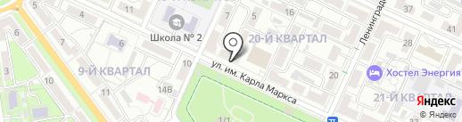 Вера на карте Волжского