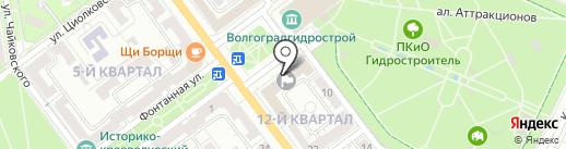 ЛДПР на карте Волжского
