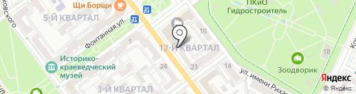 Управление муниципальным имуществом на карте Волжского