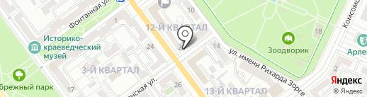 Хороший Бар на карте Волжского