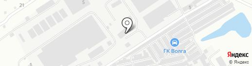 Строительные изыскания на карте Волжского