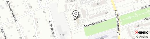 Комитет по физической культуре и спорту на карте Волжского