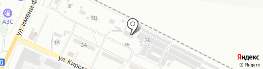 Калита на карте Волжского
