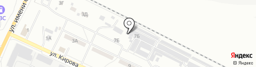 Дельта на карте Волжского