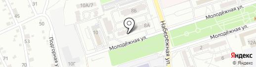 Магазин женской и детской одежды на карте Волжского