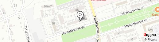 Клюквочка на карте Волжского
