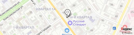 Душевная мадам на карте Волжского