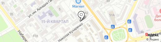 Благодать на карте Волжского