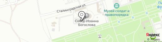 Покров на карте Волжского
