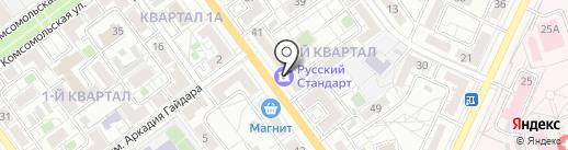 Банкомат, Росбанк, ПАО на карте Волжского