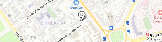 Marina на карте Волжского