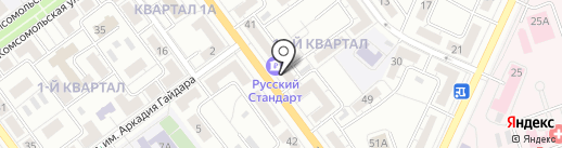 Банкомат, Банк Русский cтандарт на карте Волжского