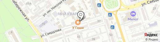 Киоск по изготовлению ключей на карте Волжского