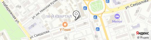 Окна МАКС на карте Волжского