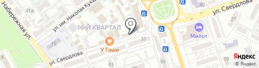 У Гоши на карте Волжского