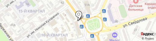 Билайн на карте Волжского