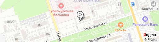 Волгоградский территориальный институт профессиональных бухгалтеров и аудиторов на карте Волжского