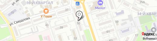 Магазин по продаже яиц на карте Волжского