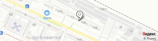 Экспромт на карте Волжского
