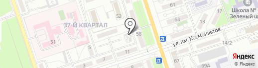 Пункт приема стеклотары-макулатуры на карте Волжского