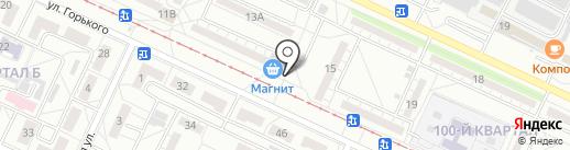 Мясной магазин на карте Волжского