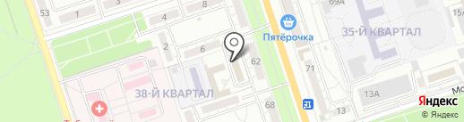 Центр инженерно-геодезического изыскания и землеустройства на карте Волжского