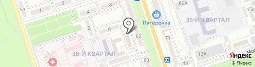 Дуэт на карте Волжского