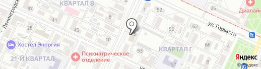 Для Своих на карте Волжского