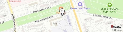 Управление Федерального Казначейства по Волгоградской области на карте Волжского